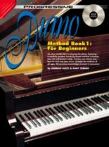 Progressive Piano Method Book 1 for Beginners