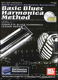 Basic Blues Harmonica Method Level 1