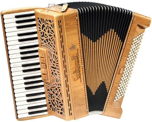Saltarelle Bonaparte 120 Bass Piano Accordion