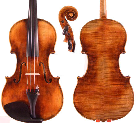 Guarneri Cannone copy by Dan Sun