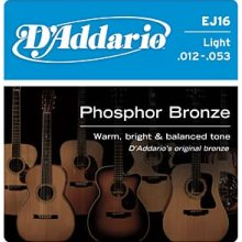 D'Addario EJ16 Light Acoustic Guitar String Set