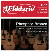 D'Addario EJ17 Medium Acoustic Guitar String Set