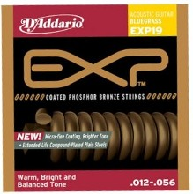 D'Addario EXP19 Bluegrass Acoustic Guitar String Set