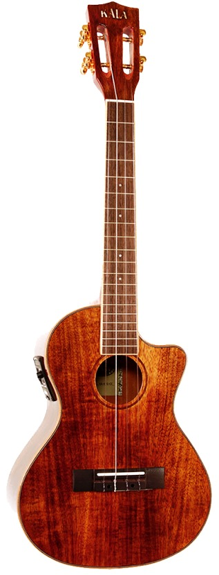 Kala KA - KTGE-C Tenor Ukulele with cutaway & EQ
