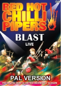 Red Hot Chilli Pipers-Blast Live DVD