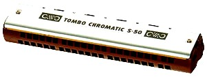 Tombo Chromatic S-50 Harmonica